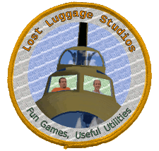 Our cool flight patch logo. Boy are you missing out if you're reading this instead.