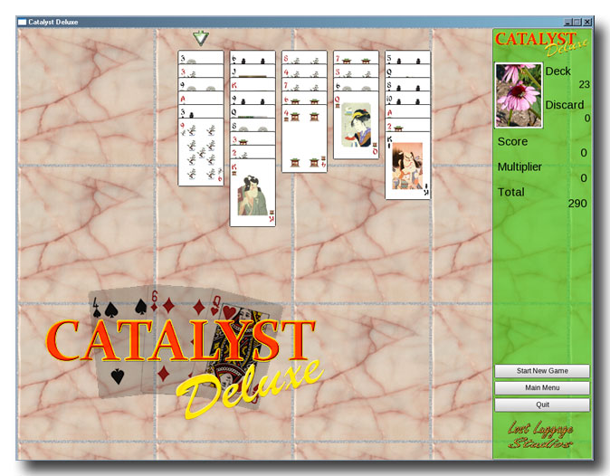 Click to view Catalyst Deluxe 1.2 screenshot
